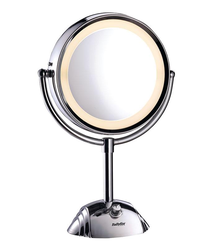 comprar babyliss espejo con luz 2 caras 8 aumentos ref