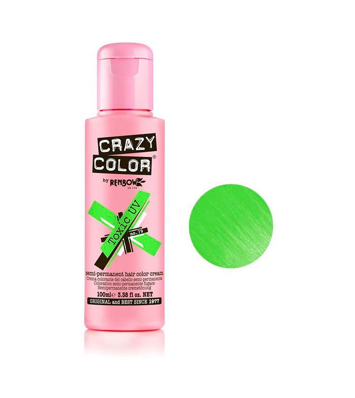 Comprar CRAZY COLOR - Kit de Cremas colorantes para el cabello Go ...