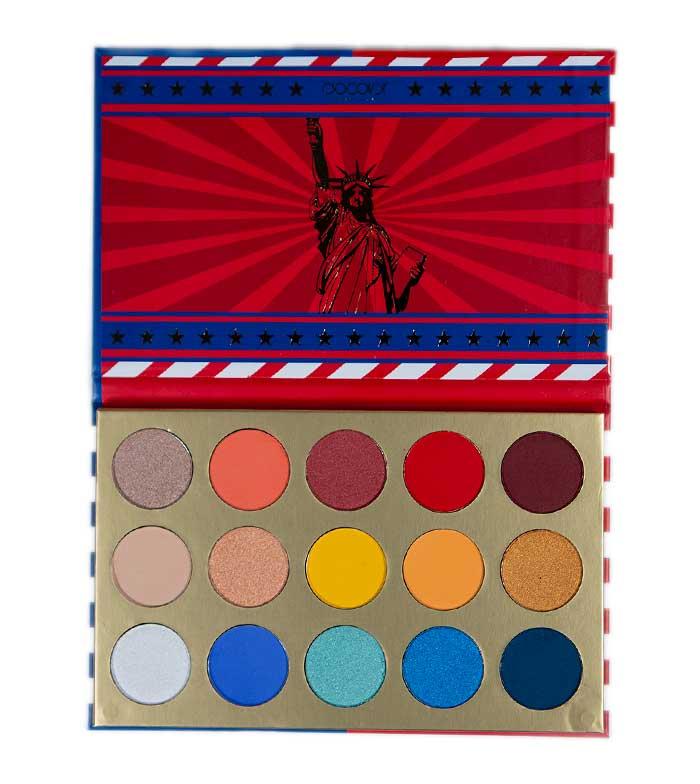 Comprar Docolor - Paleta de sombras American Flag | Maquillalia