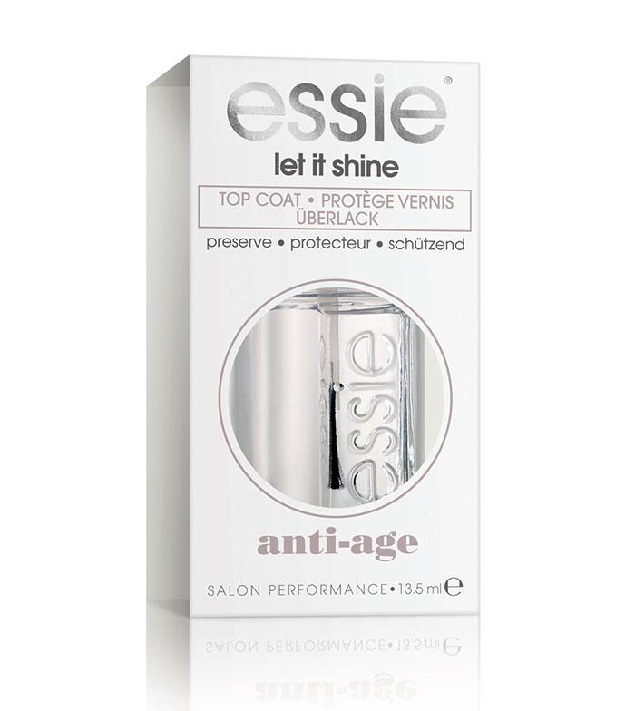 Comprar Essie - Esmalte de uñas - Top Coat Extra Brillo Let It Shine ...