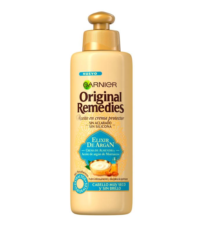 comprar garnier - aceite en crema protector elixir de argán original