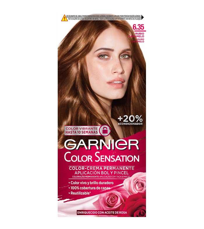 Color de pelo rubio caramelo