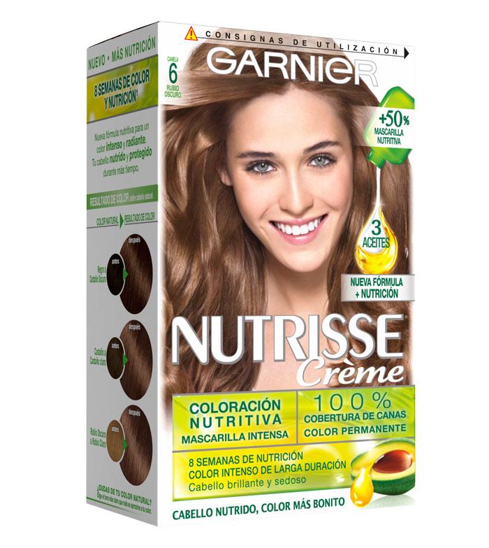Comprar Garnier Coloraci 243 N Nutrisse 6 Rubio Oscuro