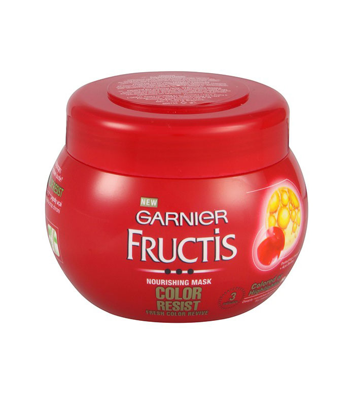 garnier fructis color resist mask - Fructis Color Resist