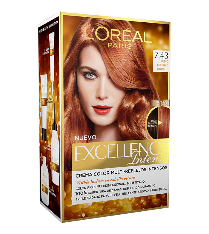 Buy Loreal Paris Excellence Intense Color 7 43 Rubio