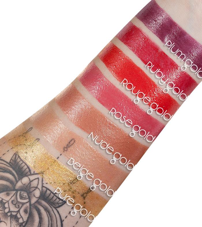 Gold Addiction Satin Lipstick by L'Oreal #12