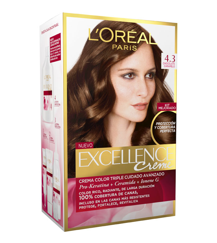 Comprar Loreal Paris Coloraci 243 N Excellence Crema Triple