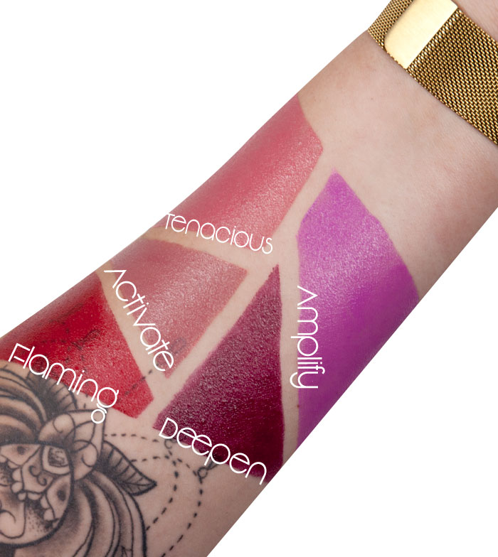 Makeup revolution ultra amplification lipstick