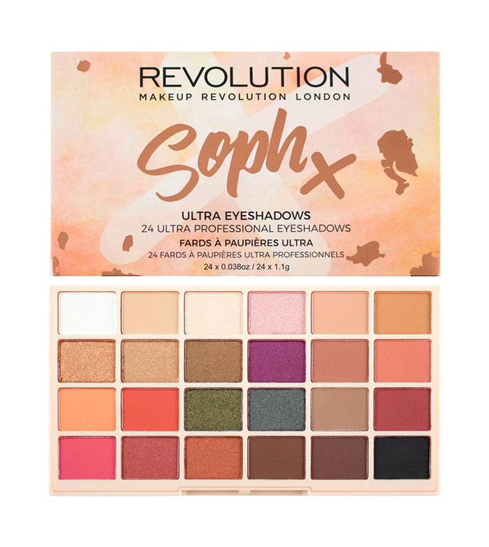 Makeup revolution x soph x