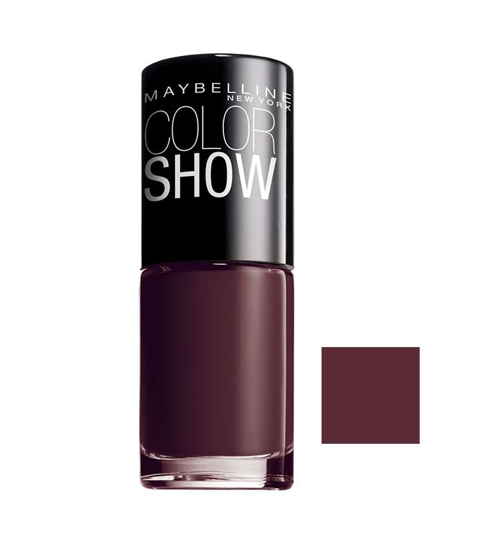 Comprar Maybelline - Esmalte de Uñas Color Show - 357: Burgundy Kiss ...