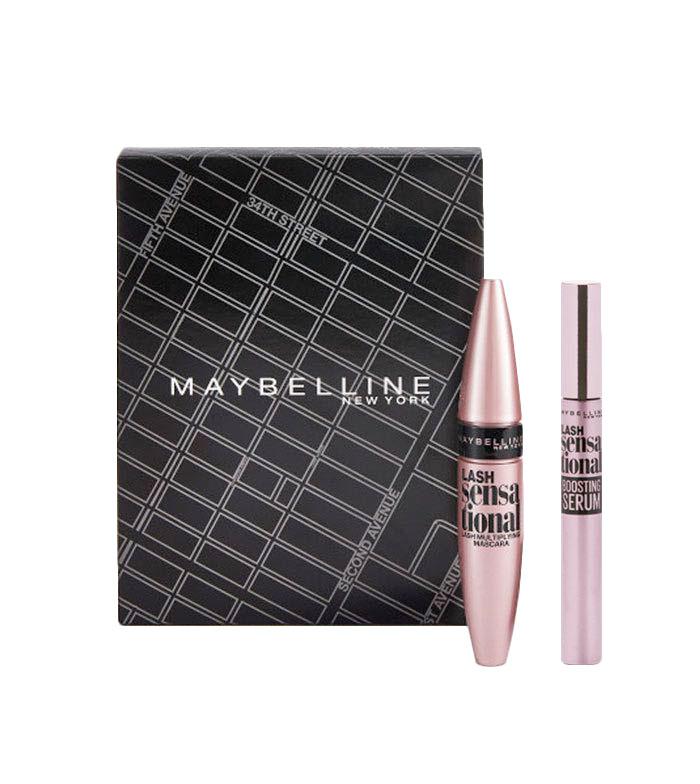 8dd1ef2950d Maybelline - Kit Máscara + Serum de pestañas Lash Sensational Routine ...