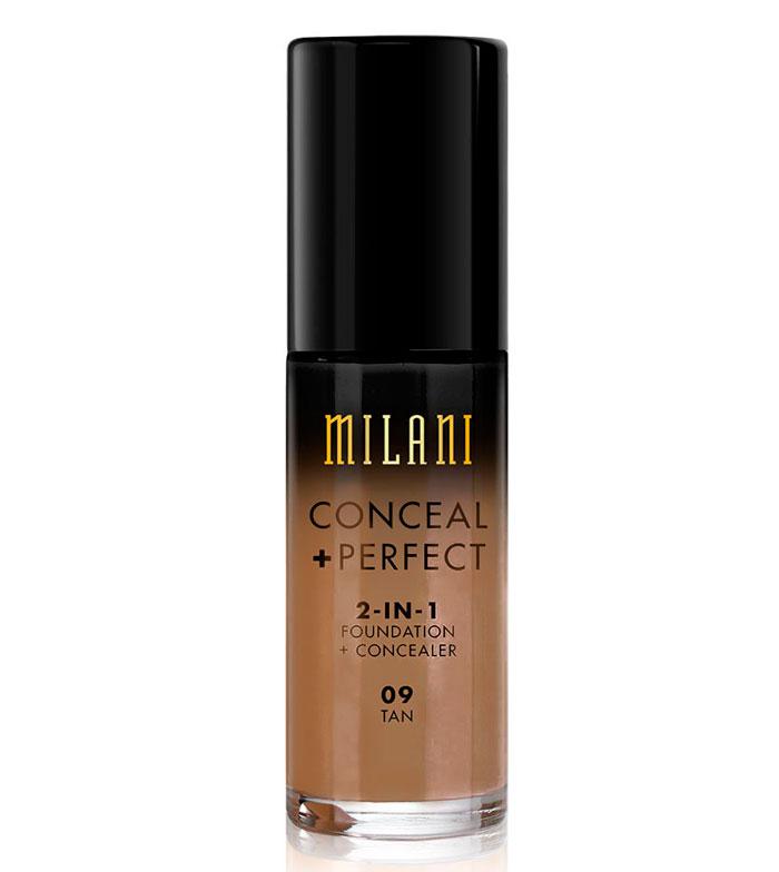 Comprar Milani - Base de maquillaje Conceal+Perfect 2-en-1 - 09: Tan ...