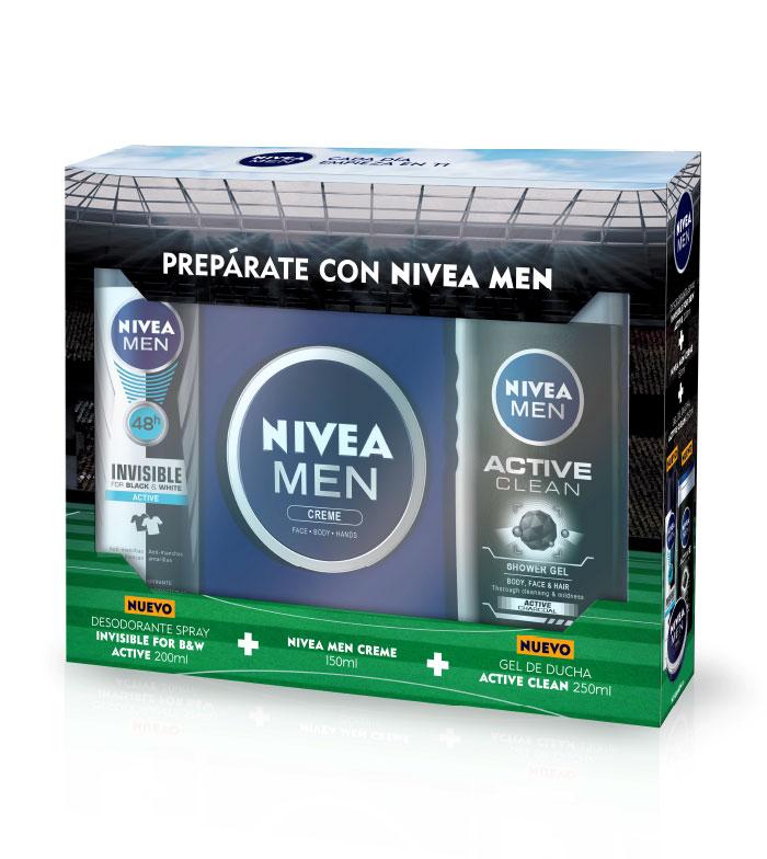 Comprar Nivea - Pack para hombre Desodorante + Crema + Gel de ducha ...