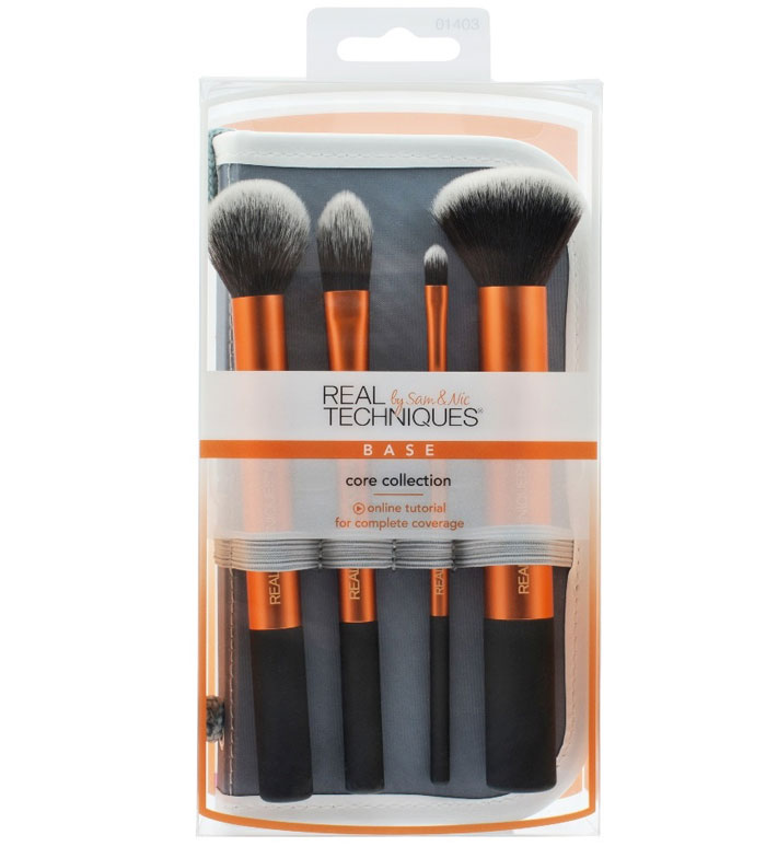 brochas de maquillaje real techniques