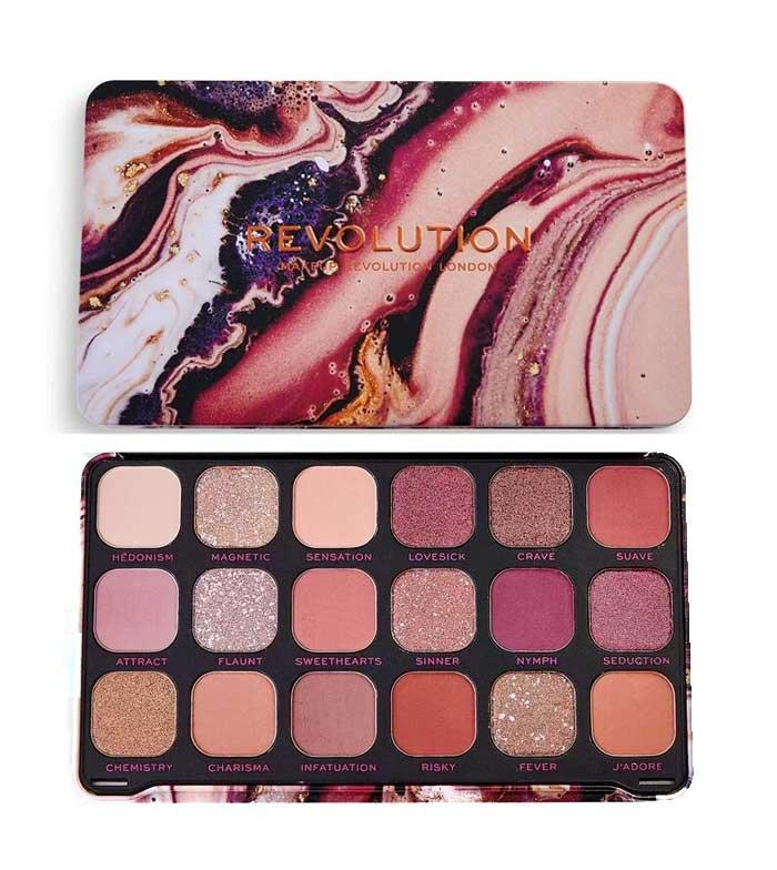 Comprar Revolution - Paleta de Sombras Forever Flawless - Allure   Maquillalia