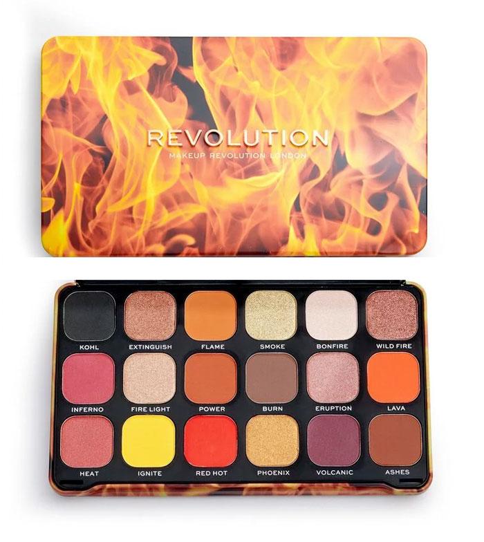 Comprar Revolution - Paleta de Sombras Forever Flawless - Fire   Maquillalia