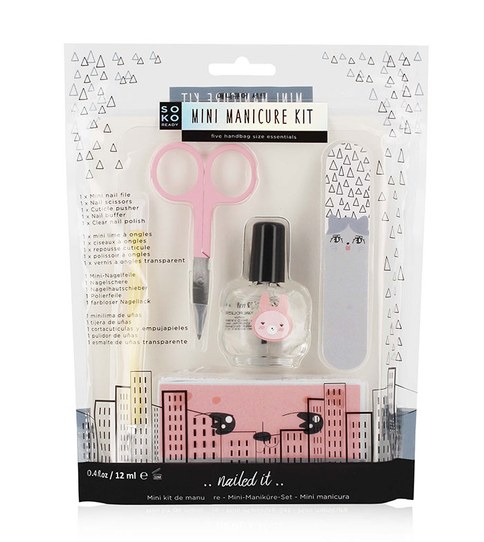 Comprar Soko Ready - Mini Kit de Manicura ..nailed it.. > uñas ...