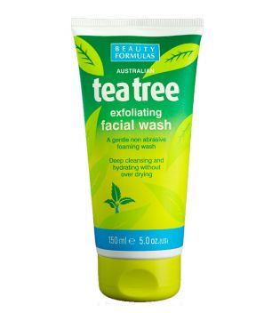 Beauty Formulas - Gel facial exfoliante del Árbol del té