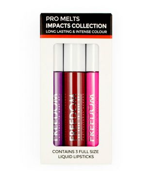 ProArtist Freedom - Kit Labial Líquido Pro Melts Impacts Collection