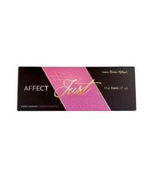 Affect - Set de paletas Just The Two Of Us - Sweet Harmony + Contour Palette 2
