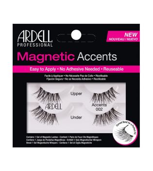 Ardell - Pestañas postizas Magnetic Accents - 002: Black