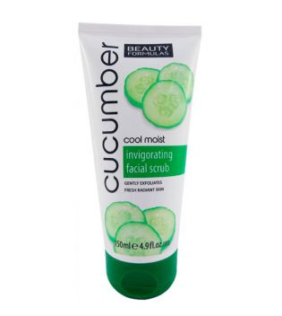 Beauty Formulas - Exfoliante Facial Revitalizador de Pepino
