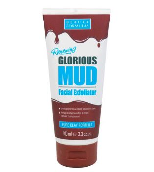 Beauty Formulas - Exfoliante Facial Suave de Arcilla Glorius Mud