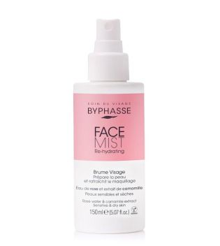 Byphasse - Bruma facial Face Mist Re-Hydrating - Pieles secas y sensibles