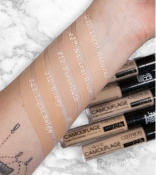 Catrice - Corrector Liquid Camouflage - 005: Light Natural