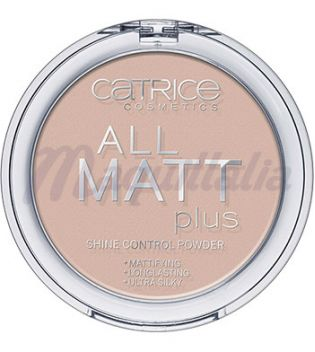 Catrice - Polvo matificante All Matt Plus- 015: Natural Beige