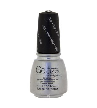 China Glaze - Esmalte de uñas en Gel Geláze - 81689: Top Coat