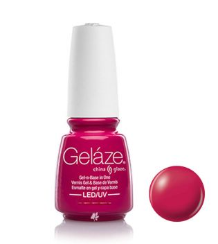 China Glaze - Esmalte de uñas en Gel y Capa Base Geláze - 81679: Make An Entrance