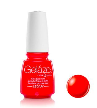 China Glaze - Esmalte de uñas en Gel y Capa Base Geláze - 81728: Rose Among Throns