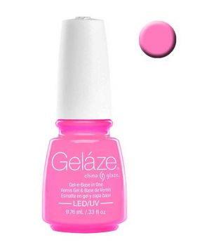 China Glaze - Esmalte de uñas en Gel y Capa Base Geláze - 82242: Bottoms Up