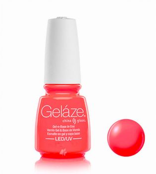 China Glaze - Esmalte de uñas en Gel y Capa Base Geláze - 82255: Surfin' for boys