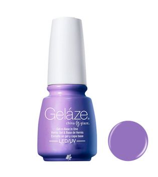 China Glaze - Esmalte de uñas en Gel y Capa Base Geláze - 82257: Tart-Y For The Party