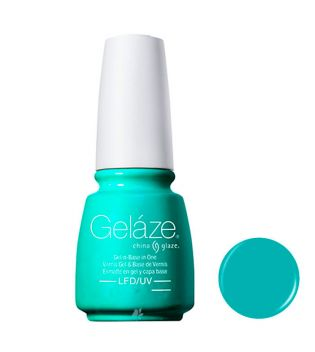 China Glaze - Esmalte de uñas en Gel y Capa Base Geláze - 82260: Too Yacht To Handle