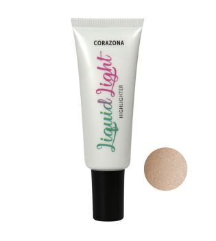 CORAZONA - Iluminador en Crema Liquid Light - Gold