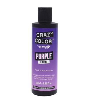CRAZY COLOR - Champú con color intenso - Purple