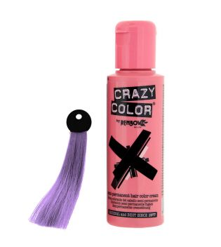 CRAZY COLOR Nº 55 - Crema colorante para el cabello - Lilac 100ml