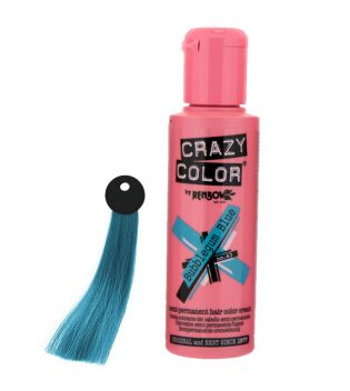 CRAZY COLOR Nº 63 - Crema colorante para el cabello - Bubblegum Blue 100ml