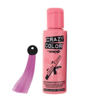 CRAZY COLOR Nº 65 - Crema colorante para el cabello - Candy Floss 100ml