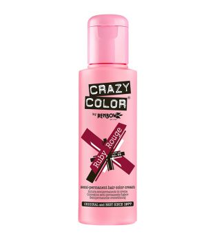 CRAZY COLOR Nº 66 - Crema colorante para el cabello - Ruby Rouge 100ml