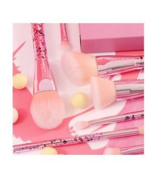 Docolor - Set de Brochas (11 piezas) - Bubble Gum
