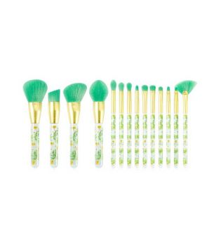 Docolor - Set de Brochas (14 piezas) - Tropical