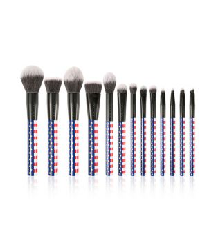 Docolor - Set de Brochas Stars & Stripes
