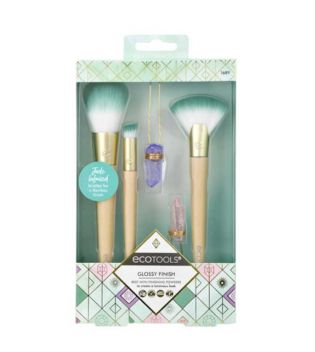 Ecotools - Set de brochas Glossy Finish