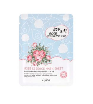 Esfolio - Mascarilla Pure Skin Essence Mask Sheet - Rose