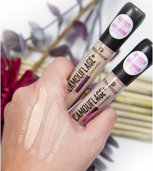 Essence - Corrector Camouflage+ Healthy Glow - 010: Light ivory