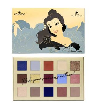 essence - *Disney Princess* - Paleta sombras de ojos Belle - 01: Don't judge a book by its cover